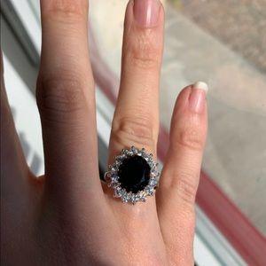 Onyx 925 ring